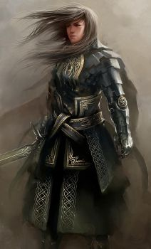 Knight Girl by HBDesign