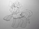 Invert Sugar - Commission Lineart WIP by anonymousnekodos