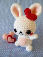 Rabbit Amigurumi by cuteamigurumi