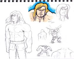 Brute sketches by GeorgeRottkamp