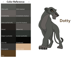 TLK Dotty Color Reference by FeralHeartsFan