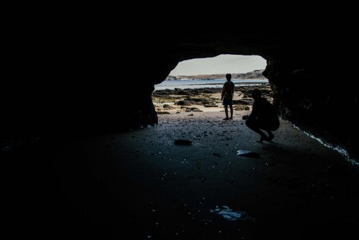 The cave by juanfox94