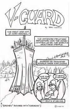 V-Guard.  A 24 hour comic book. by wombat-rue
