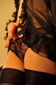 Black Lingerie 7 by Openget