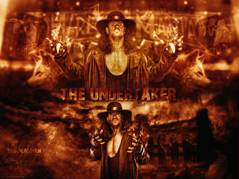 The Undertaker Wallpaper by Mackalbrook