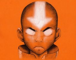 The Avatar: Aang by TinyAmazon