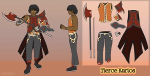 [Character] Tierce Reference by Voleno