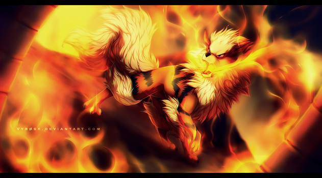 'Torn by flames' [G] by Vyrosk