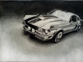 Shelby Mustang GT500 by Louisa911