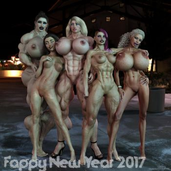 Fappy new Year by muscl3Don