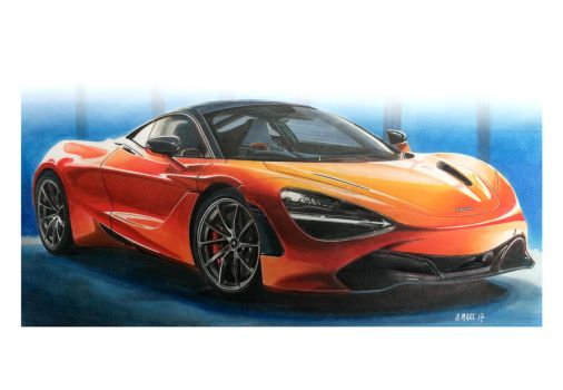 Mc Laren 720 S by Stephen59300