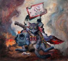 Last Cat Standing - LMS Reprint by NickRussell