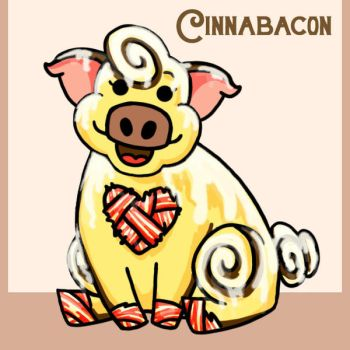 Cinnabacon the Cinnnabacon by Mad-Hatter-LCarol