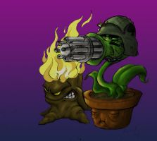 Plants vs Zombies by BjoernAlmighty
