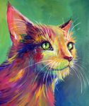 Colorful Cat 3 by San-T