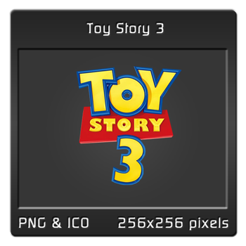 Toy Story 3 Dock Icon by caesar13