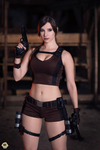 Lara Croft - Tomb Raider cosplay II. by EnjiNight