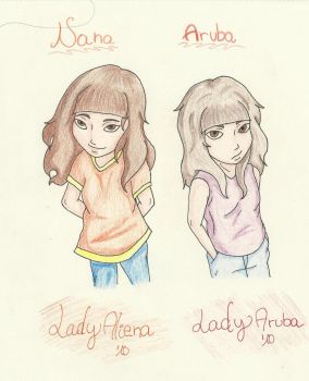 LadyAliena and I ID by LadyAruba