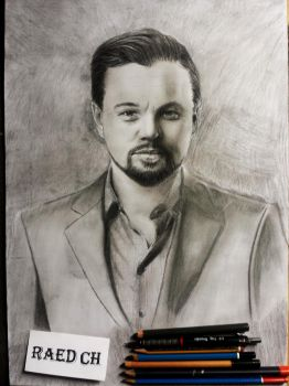 between Mark Wahlberg and  leonardo dicaprio by raed0