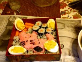 1st Try at bento by narutard94
