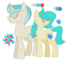 Adopted Pones by Mythical-Pixel