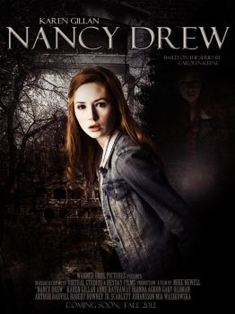 Fanmade Nancy Drew Movie Poste by LadyRandom