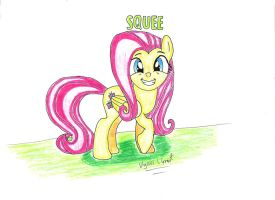 Fluttershy: SQUEE by UlyssesGrant