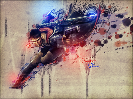 Dmc (Devil May Cry) by Acending-Sun