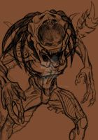 Predalien ball point close up by AstroZerk