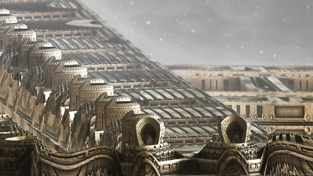 Ancient Alien Ruins XIII by banner4