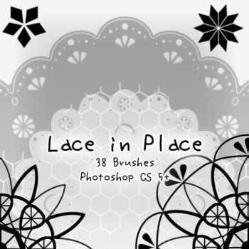 Lace in Place by kabocha