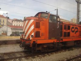 Old Train by Lusitana-Stock