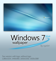 Win7 Blue by nyolc8