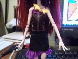 Lucy Vamp. Monster High O.C -Doll Outfit- by Ayleia-The-Kitty