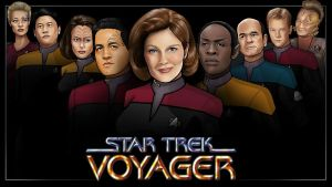 main crew - voyager by nightwing1975