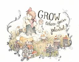 Grow Where You're Planted by ryugurl0083