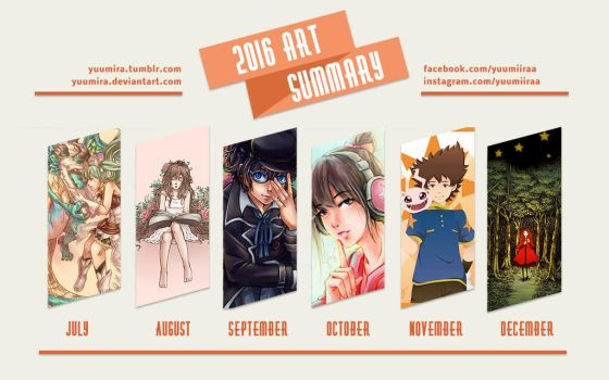 2016 Art Summary by Yuumira