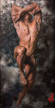 The obsolete reference to artistic nude: Adam by ValentinaSardo