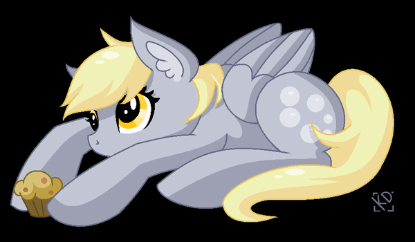 Derpy (commission) by Amazing-ArtSong