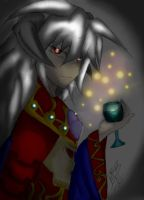 Dark Ruler Bakura by RegalAngel