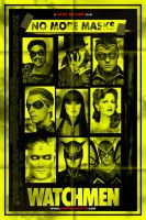 Watchmen No More Mask Poster by J-K-K-S