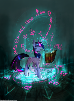 Knowledge is power by FoxInShadow