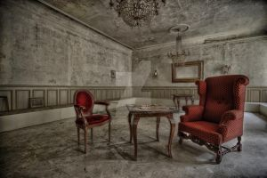 The Red Chairs... by FatmeBondage