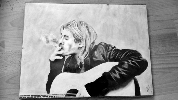 Kurt Cobain by Endicor
