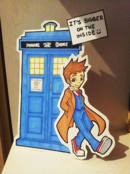 Paper child David Tennant by Silver-Lunne