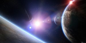 Untitled Space Panorama by Sostopher