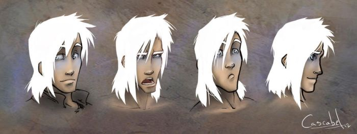 Jared faces by nary-san