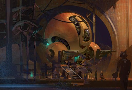 Robot factory by lukart