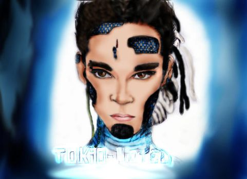 Bill kaulitz HumanoiD PC colo2 by Billoutte12