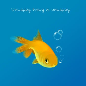 Unhappy Fishy... by Jules1983